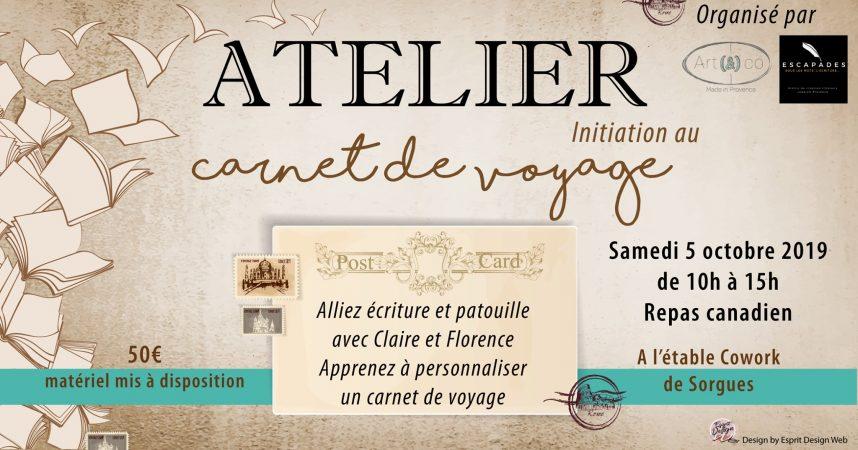 """Atelier mixte """"Carnet de voyage"""""""
