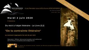 """Du récit à l'objet littéraire  (Cycle 3.2) : """"De la contrainte littéraire."""""""