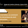 #INITIATION Narration ESCAPADES Sous les mots - #INITIATION Narration L/ Prog Saison 2020-2021Café jardin