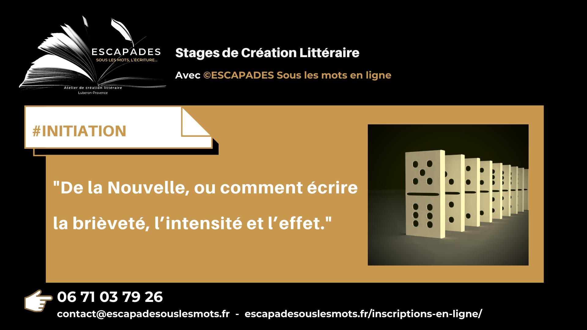 Read more about the article Écrire une Nouvelle